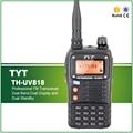 O Envio gratuito de 5 W Dual Band Dual Standby TH-UV818 TYT Transceptor FM Profissional