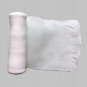 Image 4 - 1Roll  10cmx4.5m Elastic Bandage First Aid Kit Gauze roll Wound Dressing  Nursing Emergency Care Bandage