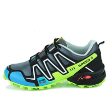 Trail Running Shoes For Men Speed 3 Sport Shoes Cross Country Outdoor Shoes Sneakers Zapatillas Running Hombre Jogging Shoes
