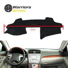 For Toyota Camry 6th 2006-2011 Black Dashboard Cover Dashmat Dash Mat Pad Sun Shade Board Carpet Protective LHD