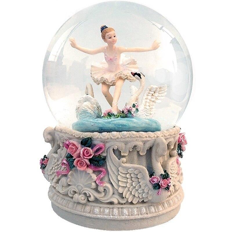 Carrusel Muzik Kutusu ballerine Presente Imagine Dragon cadeau Caixa Musique boule à neige carrousel Musical Caja De Musica boîte à Musique