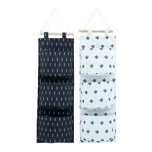 Decor Pocket Pouch Hanging Organizers Storage Bag Hanger Shelf Clothing Door Wall Home Wardrobe Organization Accessories Items