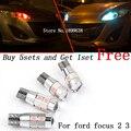 2 pcs seguro não T10 erro luz 194 W5W LED de alto brilho Canbus para ford focus 2 3 fiesta mondeo ecosport kuga drl