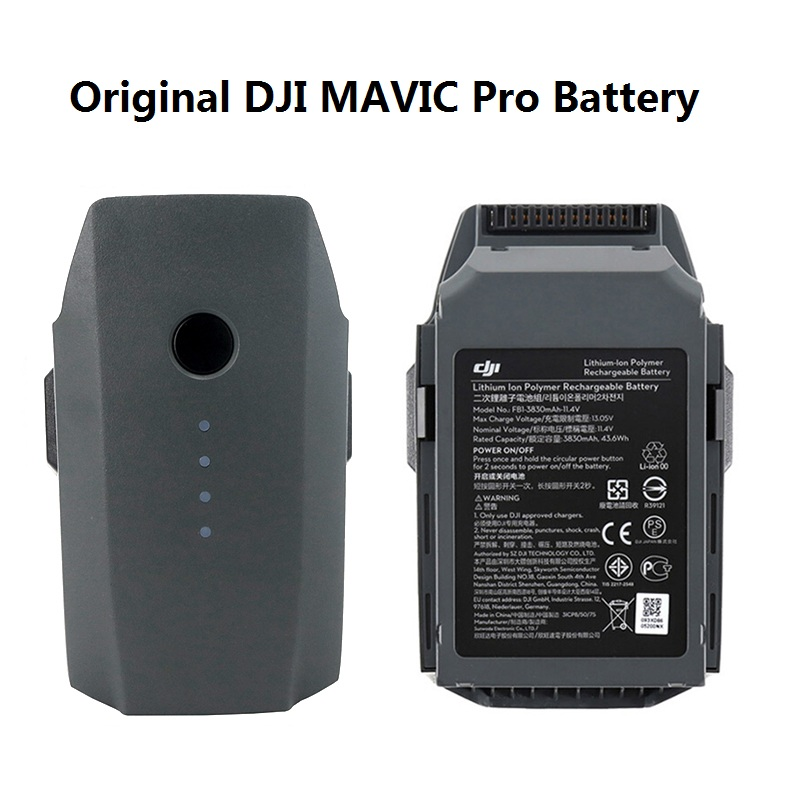 100% Original Battery For DJI Mavic Pro Intelligent Flight (3830mAh/11.4V) Specially Designed For The Mavic Drone