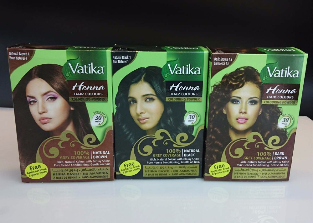 Vatika High Quality Pure Natural Henna Hair Dye Henna Eyebrow
