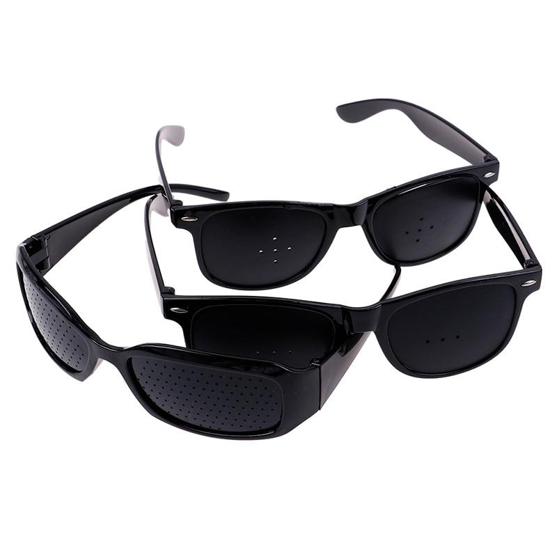 Unisex Vision Care Pin Hole Eyeglasses Hole Glasses Eye Exercise Eyesight Improve Plastic Natural Healing Cheap 3Styles 4