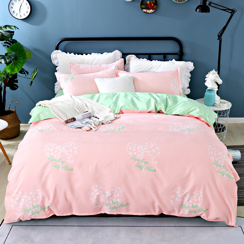 Small Print Bedding Sets Set Reactive Polyester Printing Comforter Bed Set Queen Full Size 3/4 Pcs Bed Sheet Duvet Cover Set Small Print Bedding Sets Set Reactive Polyester Printing Comforter Bed Set Queen Full Size 3/4 Pcs Bed Sheet Duvet Cover Set