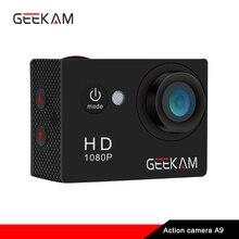 Original GEEKAM A9 action camera 1080P/15fps 720P HD outdoor sports pro waterproof go Mini camaras deportivas bike video camera