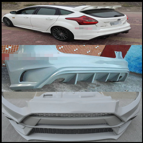 pp rs bodykit auto car body kits car bodykits for hatchback ford focus 2012 2013 front rear. Black Bedroom Furniture Sets. Home Design Ideas