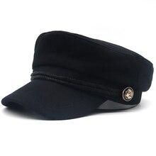 Русская Национальная эмблема, лоскутный берет, шапка, хлопок, осенне-зимняя женская шапка, мужские повседневные кепки-береты, изогнутые шапки