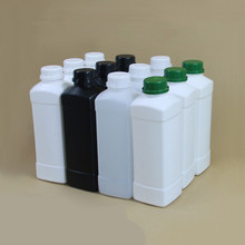 цена на 500ML,1000ML Square plastic Refillable bottle Cosmetic shampoo,Lition,Liquid packaging bottles with lid HDPE container