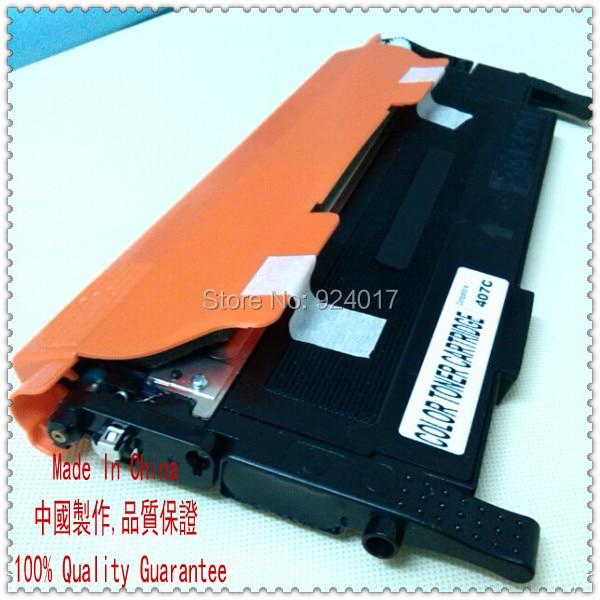 ФОТО Compatible Samsung CLT-K407S CLT-C407S CLT-M407S CLT-Y407S Toner Cartridge,Refill Toner For Samsung Clt K407S C407S M407S Y407S