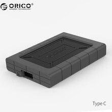 ORICO 2.5 дюймов Тип-C три-корректуры жесткий диск Поддержка USB3.1 Gen1 для Mac/Окна/ Linux (2539C3)