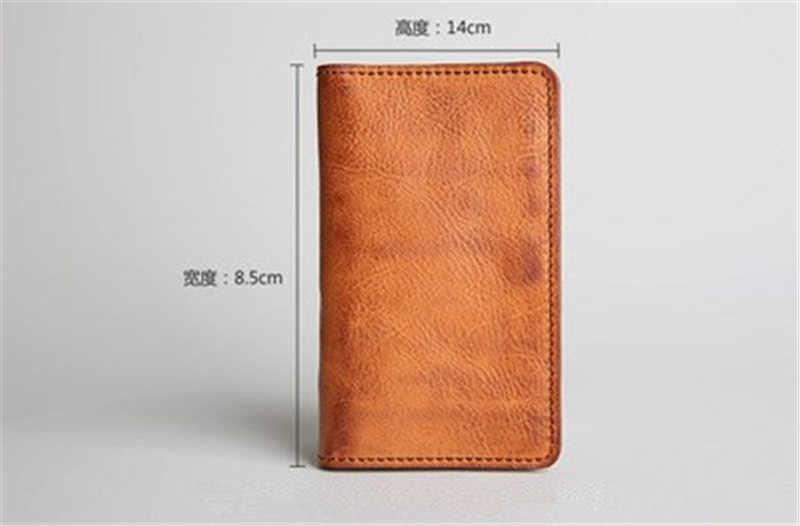 Alavchnv настоящий Ретро Новый мужской и женский короткий приталенный бумажник с пряжкой повседневный кожаный бумажник для карт 660