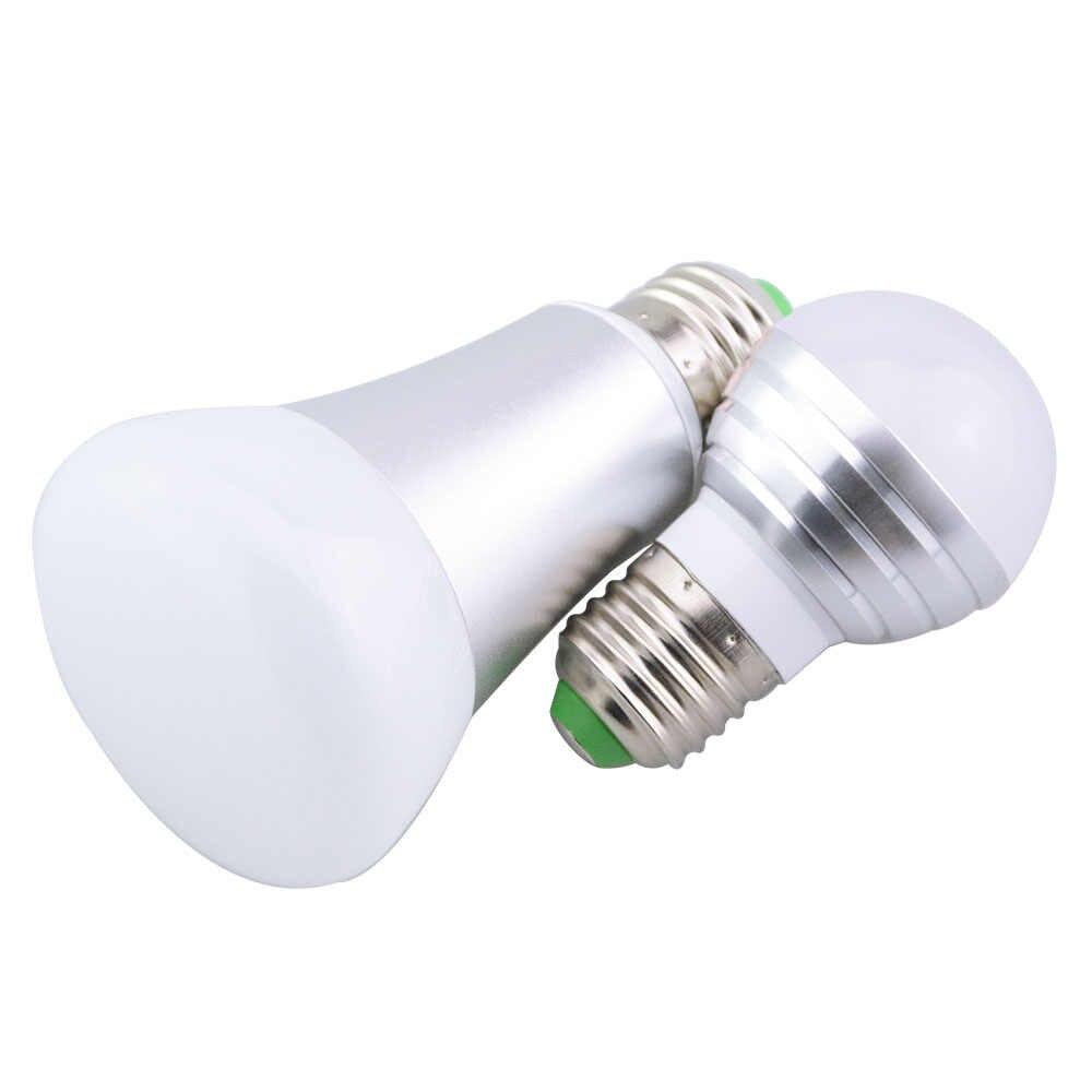Lampadine Led E14.Newest Lampadine Led E27 5w 10w Rgbw Led Light Bulb E14 Smart Lighting Lamp Color Dimmable For Home Hotel Ktv Bar Decor 85 265v