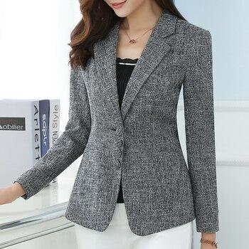 New Women's Blazer Elegant fashion Lady Blazers Coat Suits 4