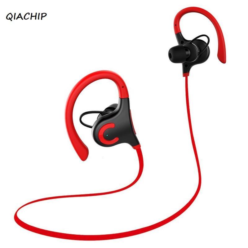 QIACHIP Waterproof Wireless Bluetooth 4.1 Earphones In-ear Sport Running Headphone Stereo Headsets Earbuds Handsfree With Mic H3
