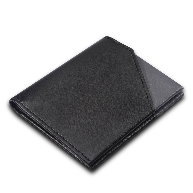 Leather Small Billfold Wallet for Men