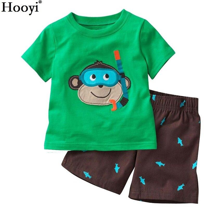 Robots Children Pajamas Sets Summer Short Pyjamas Boys clothes Pijama Suit Girls Sleepwear Nightgown Cotton T-Shirt Pants 3