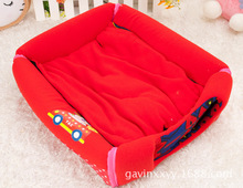 Dual arc house pet kennel cat litter dog house warm and comfortable