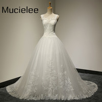 Vestido De Noiva Renda 2015 Vintage Lace Princess Wedding Dresses Real Photo Ball Gown China Wedding