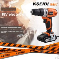 USB KSEIBI Small Electric Drill Cooling Fast Speed Switch High Precision Chuck Charging Hand Drill 18 Gear Adjustment Hand Drill