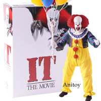 The Movie 1990 Stephen King's It Pennywise the Clown NECA Action Figure Horror Terror Doll PVC Collectible Model Toys