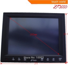 new cheaper 8 Inch resistive Touch Screen industrial Monitor