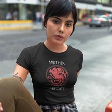 Game Of Thrones T-Shirt Mother Cats T Shirt O Neck Street Wear Women tshirt New Fashion Print 100 Cotton Ladies Tee