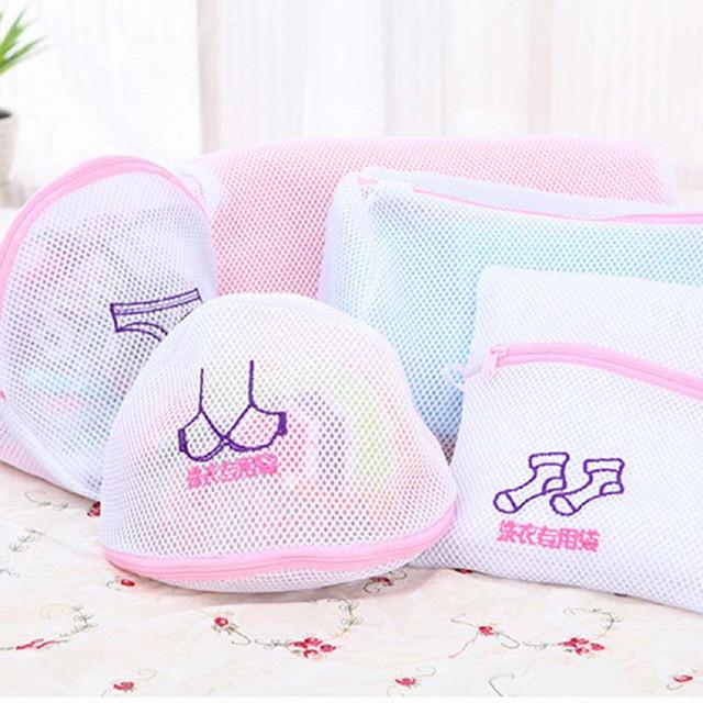 Clothes Washing Machine Laundry Bra Aid Lingerie Mesh Socks Underwear Clothes Washing Machine Protection Net Mesh Bags