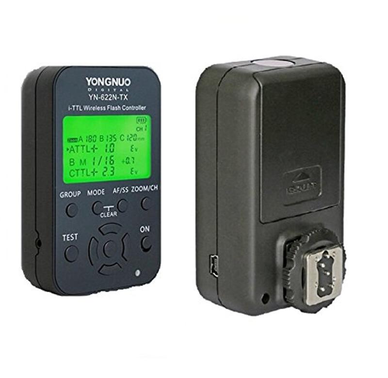 YONGNUO YN-622N-TX flash controller and YN-622N Transceiver For Nikon SB-910 SB-900 SB-800 SB-700 SB-600 SB-28 SB-27 SB-26