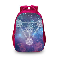 BAOBEIKU 3D Backpack Magic circle women men travel bags Fashion School Backpacks for children Shoulder Bags for Boys Drop Ship