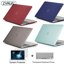 New color Laptop Case For Apple MacBook Air Pro Retina 11 12 13 15 for mac book New Pro 13 15 inch with Touch Bar + Keypad Cover