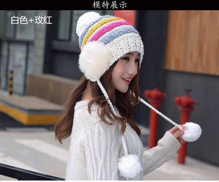 97ae9e67121 2016 High Quality Warm Wool Caps Knitted Beanies Hat Infinity Scarf Winter  Skullies Cap For Woman and Men Warm Beanie CasualUSD 9.99 piece