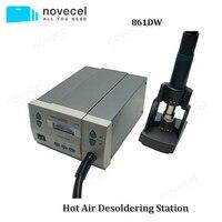 Быстрый 861DW без примесей свинца и горячий воздух паяльная станция интеллектуальный цифровой дисплей 1000 Вт паяльная станция для чип pcb ремон
