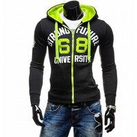 Hoodies Men 2017 Brand Male Long Sleeve Hoodie Digital Printing Sweatshirt Mens Moletom Masculino Hoodies Slim