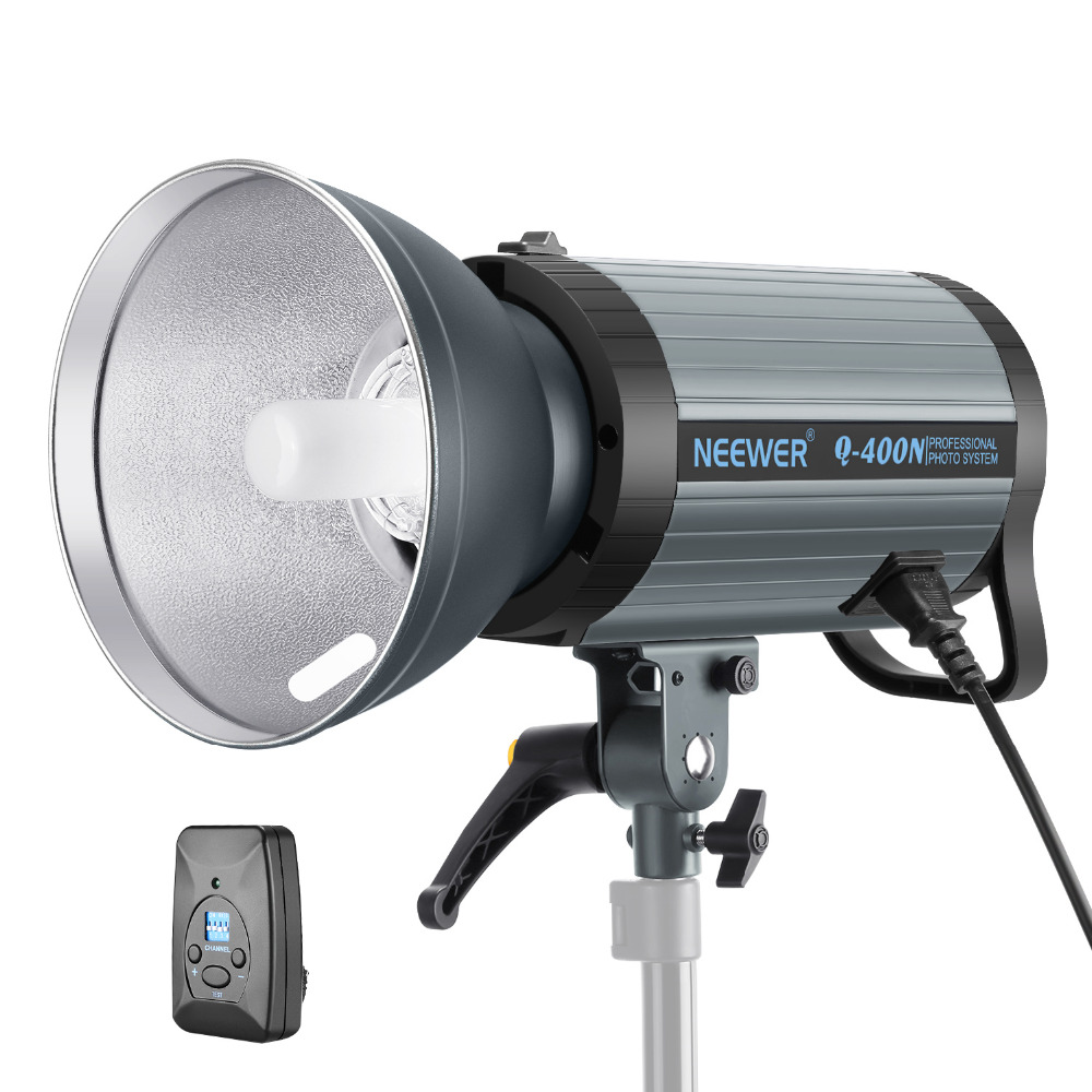 GODOX QS800II Studio Strobe Flash Light 800Ws Professional Photography Studio Light Monolight 150W Modeling Lamp for Indoor Studio Portrait Photography QS800II
