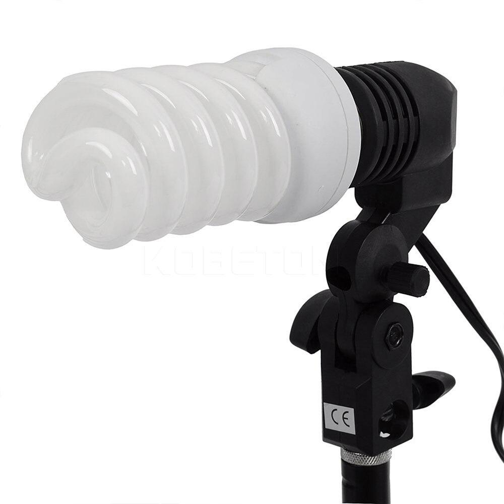 kebidu EU US Plug Single Head Photo Lighting Bulb Holder Flash ... for Bulb Holder With Plug  150ifm