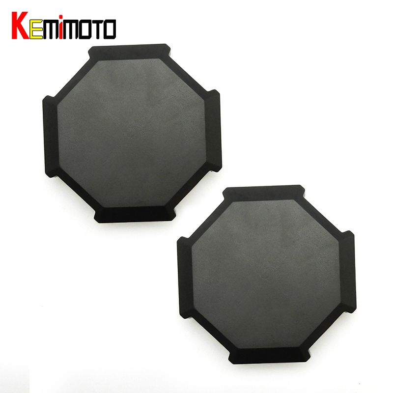 KEMiMOTO 2pcs for Polaris RZR 1000 RZR 900 S 1000 XP Turbo 2014 2015 2016 2017 BID Tire Rim Wheel Hub Center Cap Cover brake pads set for polaris atv 900 ranger rzr xp efi 2012 2013 2014 2015 900 rzr xp4 900 2013 2014 2015