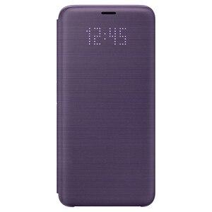 Image 5 - Orijinal Samsung LED kapak koruma kapak telefon kılıfı için SAMSUNG Galaxy S9 G9600 S9 + artı G9650 uyku fonksiyonlu kart cep