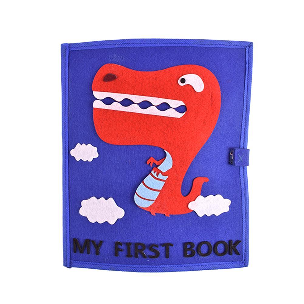 3D Kid Livro de Pano Não-Tecido Ofegante