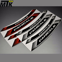 MTKRACING 8X For DUCATI PANIGALE V4 1199 1299 959 Motorcycle Inner Rim Decals Wheel Sticker Stickes Strips