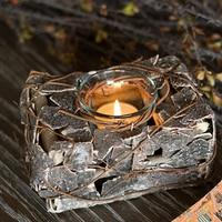 Decorative Candle Holder Birthday Lanterns Candlestick Metal Lotus Candlestick Zen Garden Lantern Candle Ferforje QQX50