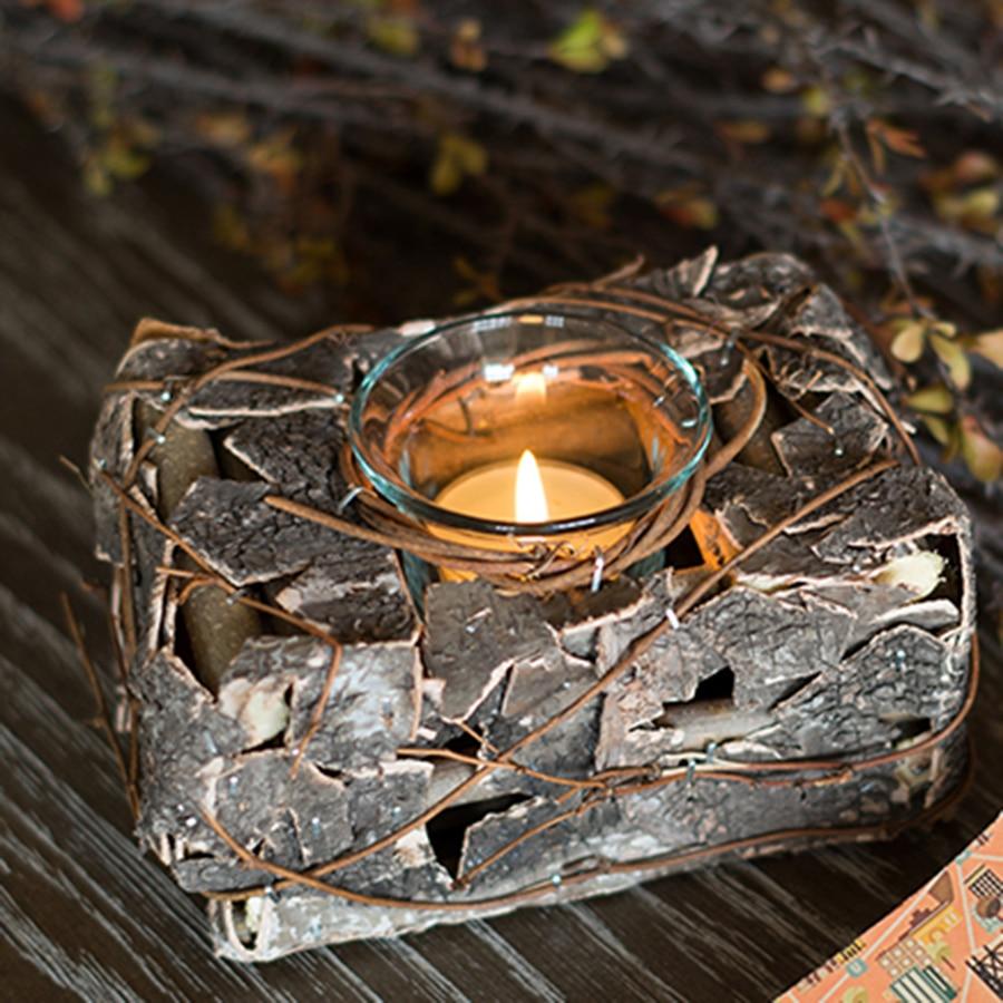 Decorative Candle Holder Birthday Lanterns Candlestick Metal Lotus ...
