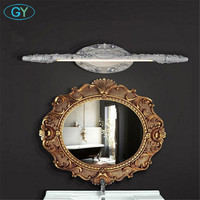 7W 9W 10W L50cm L60cm L66cm LED vanity lights Vintage White Silver Resin LED mirror light bathroom cabinet dressing table lamps