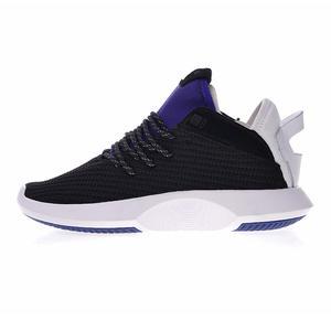 innovative design 0a8d5 e6a8a Adidas Crazy 1 Adv Pk Mens Running Shoes, Black  White  Blue,  Wear-resistant Breathable Lightweight Non-slip AH2254