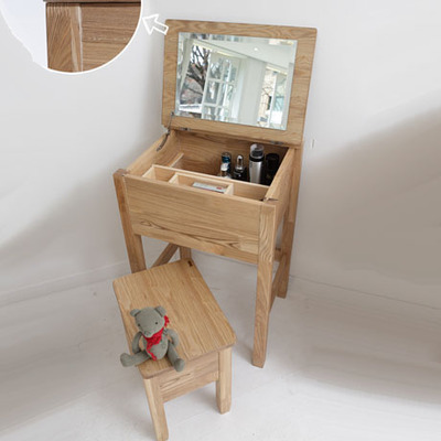 Ereli Japanese style wood furniture Manchester Scandinavian modern style  makeup vanity dressing table stool suit Ash. Online Shop Ereli Japanese style wood furniture Manchester
