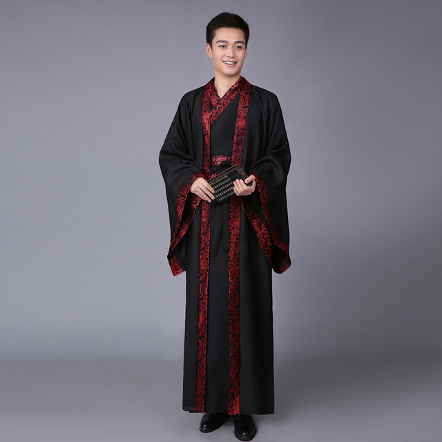Ancient Chinese Costume Men Stage Performance Outfit for Dynasty Men Hanfu Costume Satin Robe Chinese Traditional  sc 1 st  AliExpress.com & Ancient Chinese Costume Men Stage Performance Outfit for Dynasty Men ...