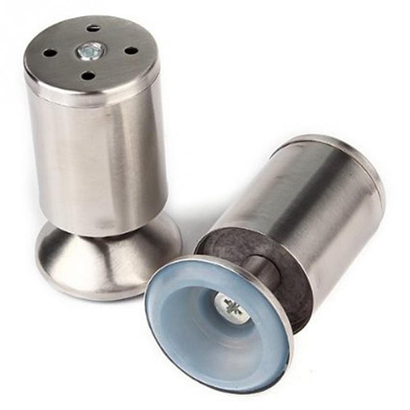 Adjustable Stainless Steel Kitchen Cabinet Legs: 4pcs/pack Furniture Leg Stainless Steel Kitchen Adjustable