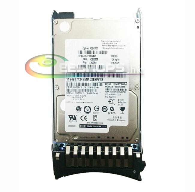 ФОТО Genuine for IBM 42D0637 42D0638 X System 300GB 10K RPM 6Gb SAS HDD 2.5 Inch Hard Disk Drive for X3550 X3650 X3400 X3500 M2 M3